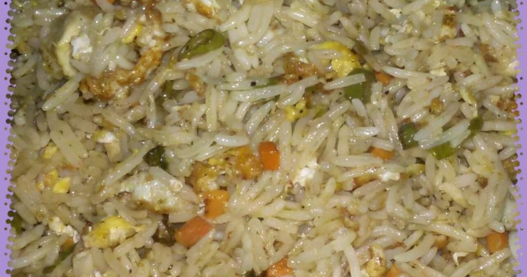 Easy Way To Make Egg Fried Rice