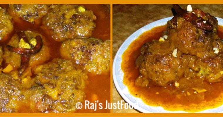 Easy And Unique Banana Blossom Balls Curry |Mocha Kofta :