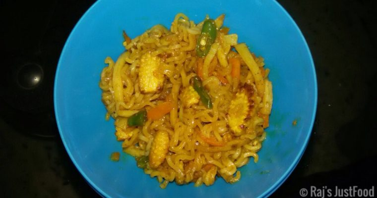 Veg Fried Maggi Noodles | Healthy Maggi recipe