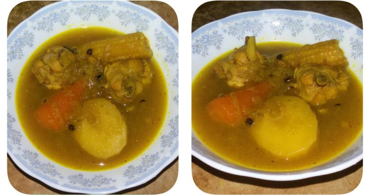 Chicken Stew Recipe | Easy Chicken Corn Stew