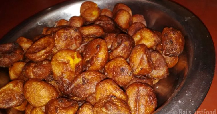 How to make Taler Bora   Sweet Palm Fritters -Bong Recipe