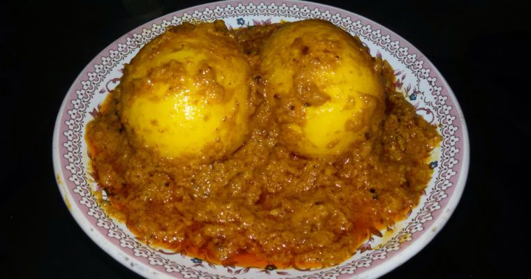 Egg Chaap Recipe – delicious egg cuisine