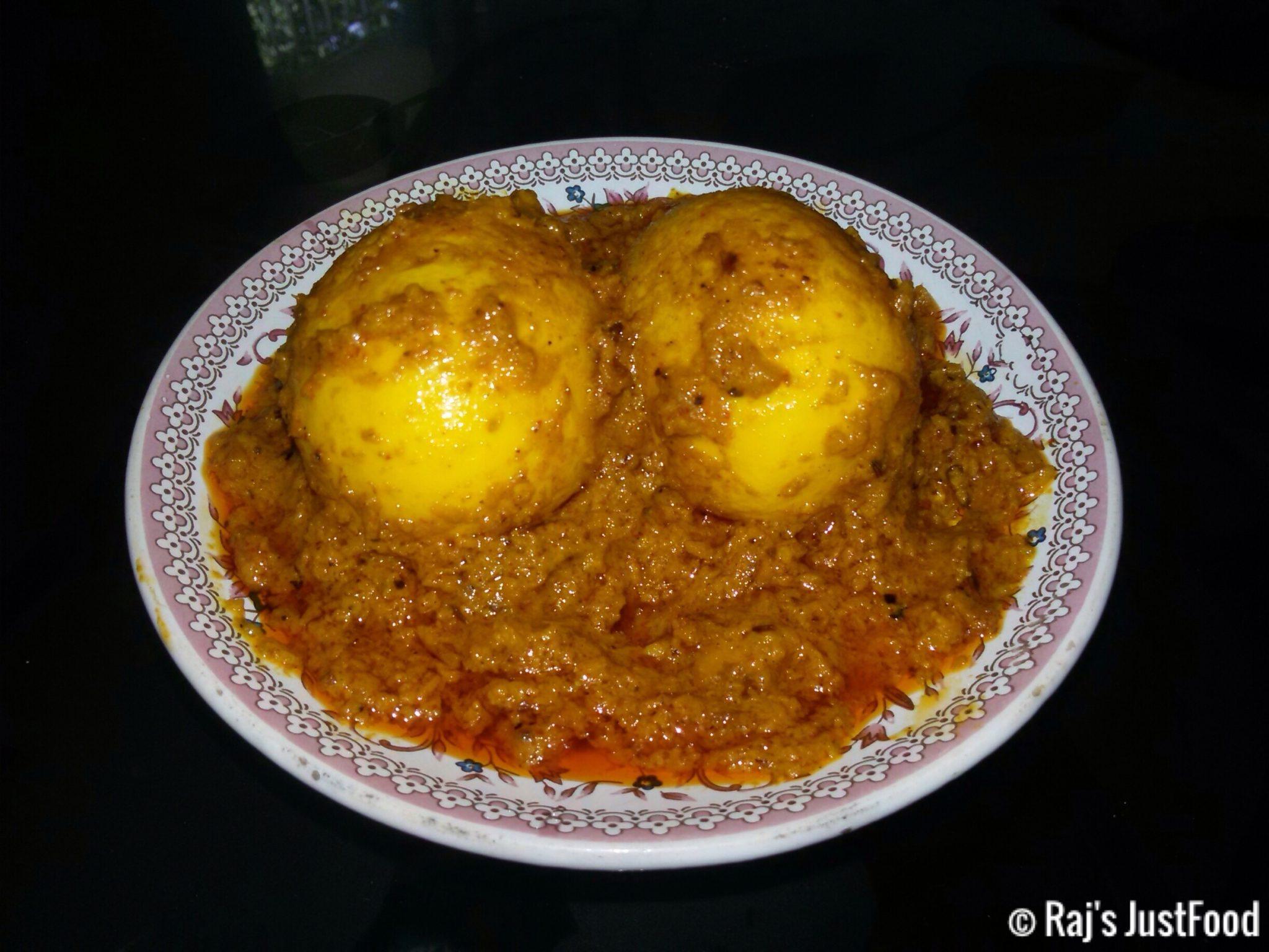 Egg Chaap recipe