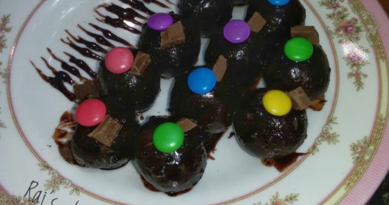 Choco Surprise Balls   Chocolate Misti Recipe