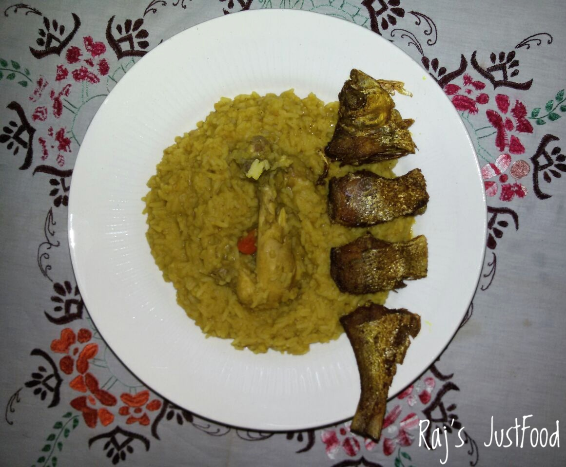 Chicken khichdi recipe