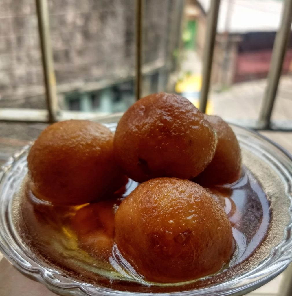 Sweet potato gulab jamun recipe